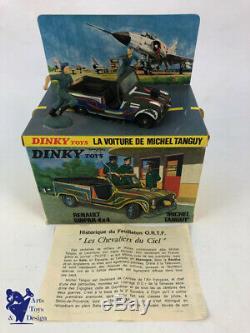 Jouet Ancien D'epoque Dinky Toys France 1406 Renault Sinpar Michel Tanguy