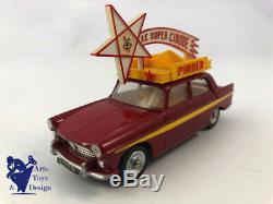Jouet Ancien D'epoque Dinky Toys France 882 Peugeot 404 Caravane Pinder Av Boite