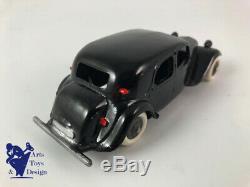 Jouet Ancien D'epoque Jrd 112 Citroen Traction Avant 11 CV Noire