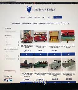 Jouet Ancien Dinky Toys France 29d Boite Revendeur 6 Autobus Parisien D'epoque
