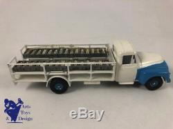 Jouet Ancien Dinky Toys France 586 Camion Laitier Citroen 55 Avec Boite