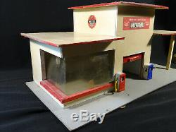 Jouet ancien garage station officielle MOTUL année 50