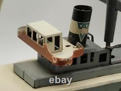 Jouet en tôle Arnold made Germany ancien Bateau Cargo dit Freighter