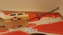 Jouets ADOR (France) Miniabloc Caravane électrique téléguidée (Années 50)