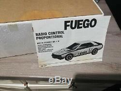 Joustra Renault FUEGO vintage 1980 Radio commandée tbe