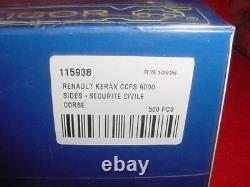 KERAX CCFS 9000 SIDES SECURITE CIVILE CORSE sapeurs pompiers 1/43 ELIGOR boite
