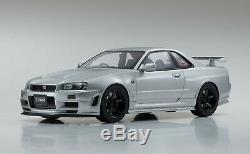 KYOSHO KSR12005S-B Nissan Skyline GT-R Nismo Z-tune Silver 1/12