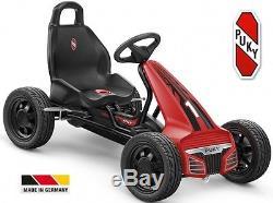 Karting à pédale Noir PUKY F550 L velo Go-kart enfant à partir de 4 ans 105cm