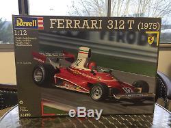 Kit Revell 1/12 Ferrari 312 T 07490 Jamais Ouvert / Never Opened