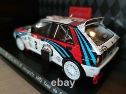 Kyosho 1/18 Lancia Delta HF Integrale 92 Tour de Corse 08342B White #3