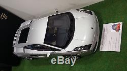 LAMBORGHINI GALLARDO gris argent silver mét 1/12 AUTOart 12093 voiture miniature