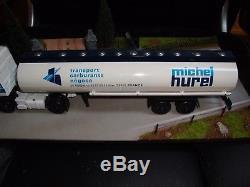 LBS Eligor 1/43 Camion Renault gamme R Citerne Carburants Michel Hurel FF5