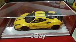 LB Ferrari 488 GTB Giallo Tristrato Davis & Giovanni 118