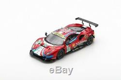 LOOKSMART FERRARI 488 GTE EVO N°51 1er LMGTE Pro class 24H Le Mans 2019 1/43