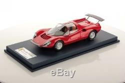 LOOKSMART LOOLS18FC01B Ferrari Dino 206 Competizione prototipo rouge 1/18