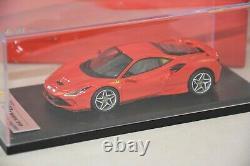 LOOKSMART LOOLS503A Ferrari F8 Tributo rouge 2019 1/43