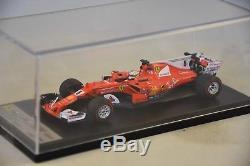 LOOKSMART LSF109 SCUDERIA FERRARI SF70H Vainqueur Monaco GP 2017 Vettel F1 1/43