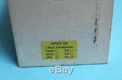LOTUS AEC Swift Transporter TeamJPS 1/43 SMTS white-metal KIT SPEC03c
