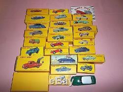 Lot 25 Dinky Toys Atlas Citroen Peugeot Renault Lincoln
