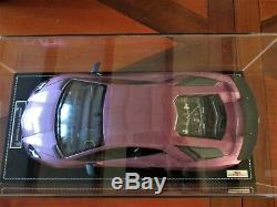 Lamborghini Aventador Lp750-4 Sv Mr 1/18 Se30 Purple Unique One Car Off 1/1