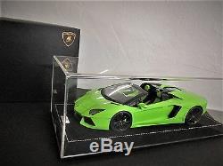 Lamborghini Aventador Roadster Mr 1/18 Verde Ithaca N° 05/25 Ref Lambo010ab1