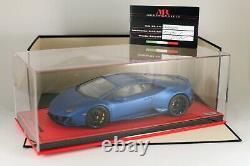 Lamborghini Huracan EVO Blu Aegeus (mat) MR LAMBO038SE2 1/18 NEW