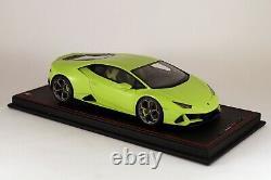 Lamborghini Huracan EVO Verde Scandal MR LAMBO038SE 1/18 NEW