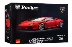 Lamborghini Huracan LP610-4 trousse rouge 18 Pocher