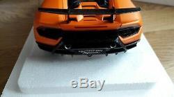 Lamborghini Huracan Performante Orange Mat 1/18 Autoart 79152
