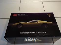 Lamborghini Miura P400SV 8622Y kyosho 1/12
