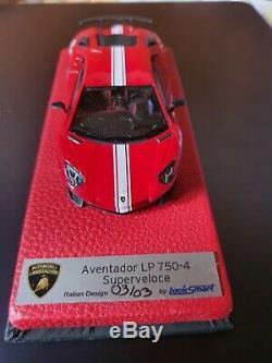 Lamborghini aventador 1/43 Limited 03/3 Looksmart, no BBR, Looksmart