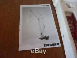 Liebherr LR 1750 mammoet 1/50 conrad rare