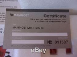 Liebherr ltm 11200-9.1 MAMMOET NZG COMME NEUF 1/50 rare