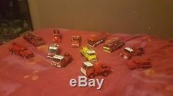 Lot Vehicule Pompiers 1/43