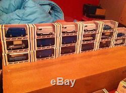 Lot de 47 miniatures marque DUVI 1/43 Neufs en boite d'origine