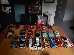 Lot de voitures collection burago italie, solido france maisto thaiwan