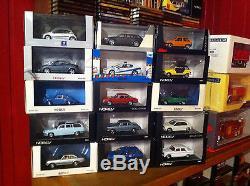 Lot voitures miniatures Norev au 1/43 neuves