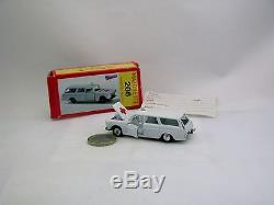 Majorette 206 Peugeot 404 Ambulance Avec Boîte Excellent Etat, Rare