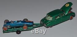 MAJORETTE RAIL ROUTE 217 Citroën DS 21 vert métallisé + Alpine en boîte