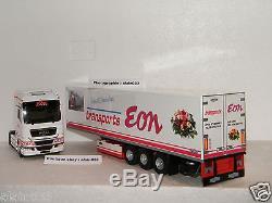 MAN TGX EURO 5 SEMI FRIGO CHEREAU TRANSPORTS EON ELIGOR 1/43 Ref 115247