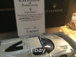 MASERATI MC12 road car 2004 Autoart signature 1/18