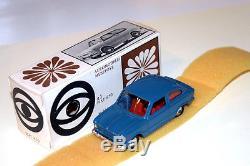 Mebetoys #a-1 (1966) Fiat 850 Berlina Prima Serie Scatola Bianca Mint Box