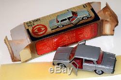 Mebetoys #a-3 (1967) Alfa Romeo Giulia Ti Grigio Metallizzato Nmint Boxed