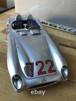 MERCEDES 300 SLR Mille Miglia 1955 1/18 CMC M-066