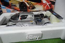 MERCEDES SAUBER C9 de 1989 #61 silver 24h LE MANS 1/18 EXOTO RLG 18195 voiture