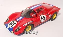 MG MODEL DINO11864 Ferrari Dino 206 S 24H Du Mans 1969 N°61 Mieusset 1/18