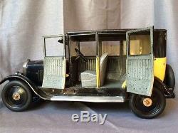 Magnifique jouet taxi andré citroen B14 rare exceptionel sur ebay