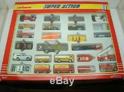 Majorette Rare Coffret Super Action N° 925 25 Vehicules Neufs Ancien
