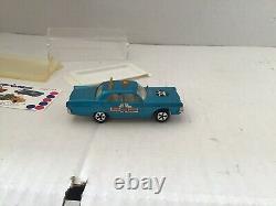 Majorette Ref 216 Plymouth Police Rare Variante De Couleur Et Oublie Decalco