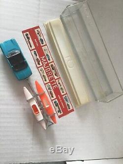 Majorette Ref 331 Peugeot 204 Remorque Canoë En Boite Cristal